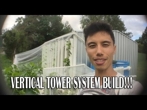 Vertical Tower System Build and Mini Update