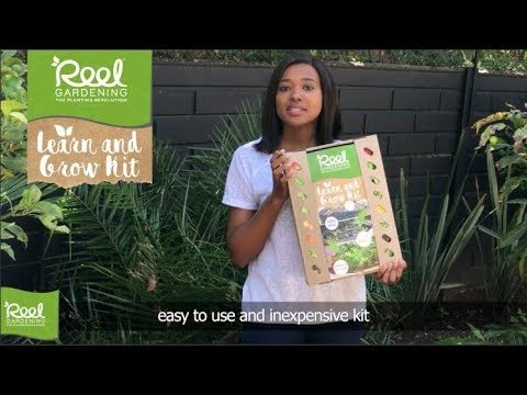 Reel Gardening Learn & Grow Kit. A school garden you can place anywhere. Just add soil, water & sun!