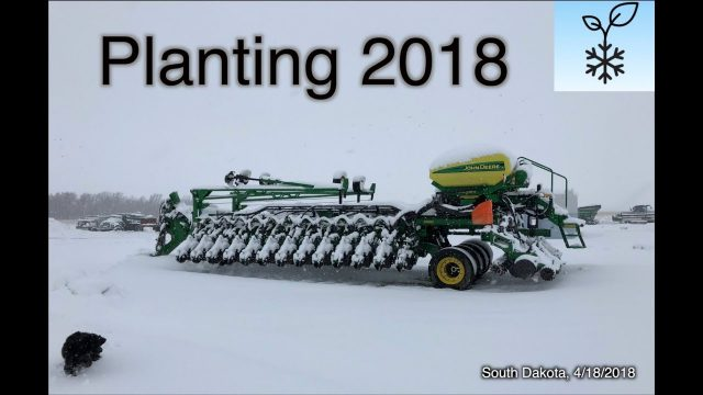 """Snowtill"" – Coldest since 1895 – Planting On Hold – Farmers Miserable"