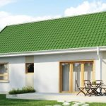 Beautiful Small House Z12 With Green Roof