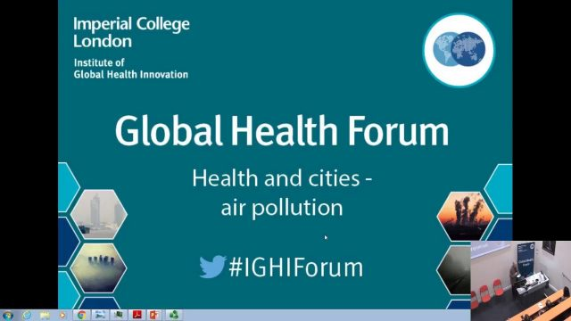 Global Health Forum – Healthy cities – 15 February 2018