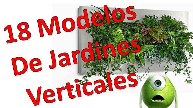 18 Modelos De Jardines Verticales Naturales Y artificiales
