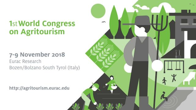 First World Congress on Agritourism – 7-9 November 2018