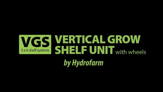 Vertical Grow Shelf System