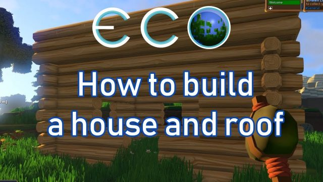 Eco Game: How to build your walls and roof SIMPLE