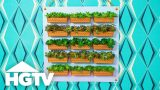 DIY Dollar Store Vertical Garden – Way to Grow – HGTV