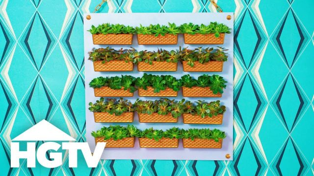 DIY Dollar Store Vertical Garden – Way to Grow – HGTV