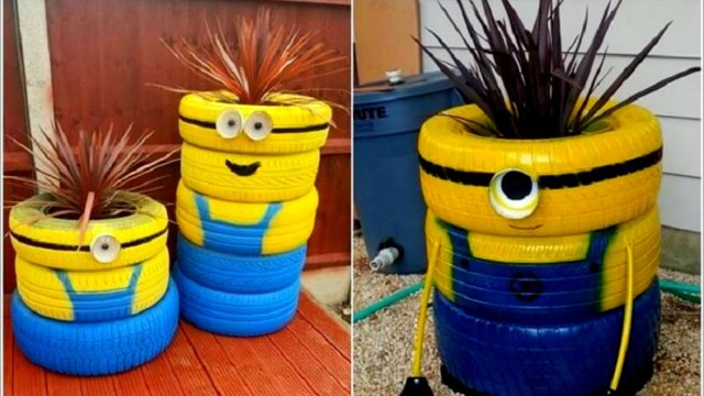 Recycled Used TYRES Creative Ideas 2016 – Furniture Chair Table Hotchpotch Flower Garden