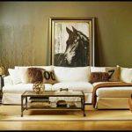 Olive Green Walls Living Room