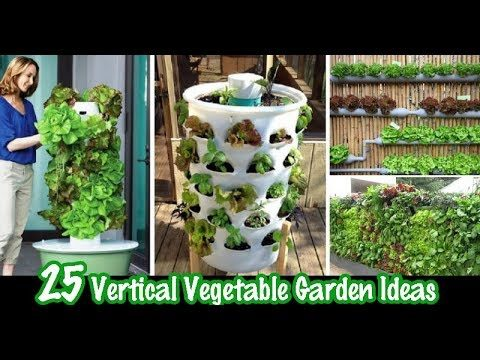 25 Vertical Vegetable Garden Ideas