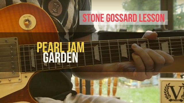 "PEARL JAM – Learn to Play ""Garden"" Guitar Lesson 