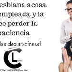 Terapia Urbana – Jefa lesbiana acosa una empleada hasta el punto de perder la paciencia (1/2)