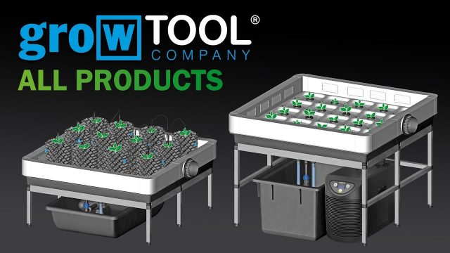 growTOOL  hydroponic & aeroponic systems