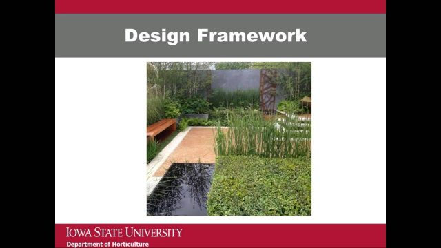 Applying the Landscape Design Principles