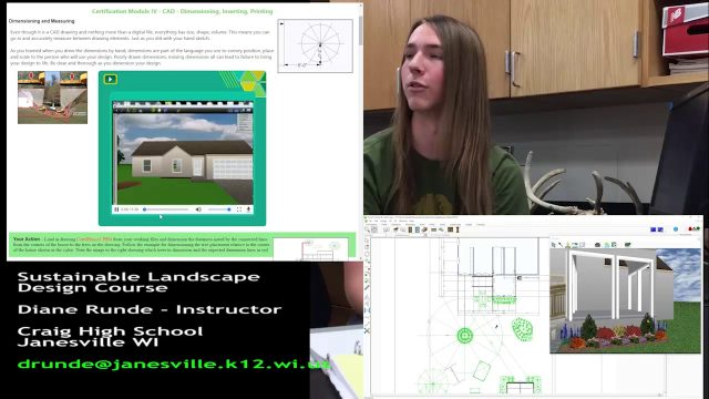 Craig HS Sustainable Landscape Design Course Recruit Video