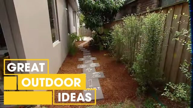 How To Build A Hopscotch Path For Kids | Outdoor | Great Home Ideas