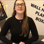 DIY WALL HANGING PLANTER BOXES