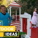 Make Your Own DIY Castle Cubby House | Outdoor | Great Home Ideas