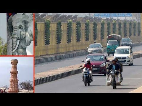 Delhi: Wall art, vertical gardens and replicas of Qutub Minar to give new look to NH 24