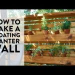 How to Make a Floating Vertical Planter Wall Out of Affordable Cedar Pickets