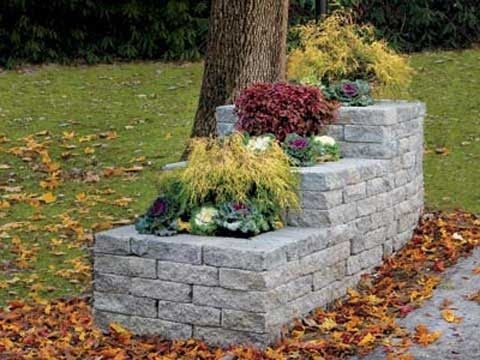 How to Build a Stone Planter – This Old House