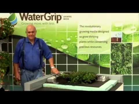 WaterGrip Green Roof Installation Demonstration