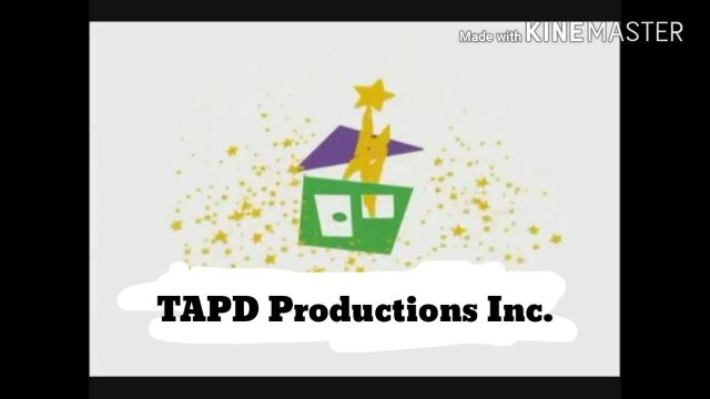 TAPD Productions Inc Logo (2000-present) Green House/Purple Roof Variant
