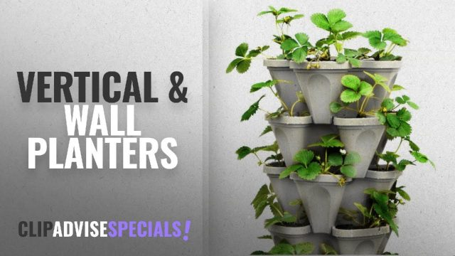 10 Best Vertical & Wall Planters [2018 Best Sellers] | Pots, Planters & Container Accessories