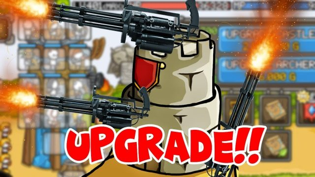 LEVEL 1000 TOWER MINIGUN! | Grow Castle