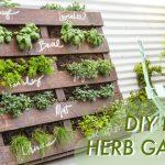 DIY Shipping Pallet Herb Garden | Makeful