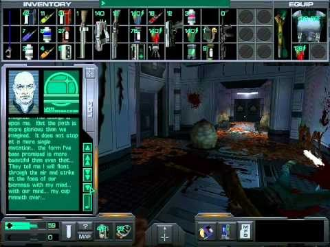 System Shock 2 – most disturbing audio log in hydroponics