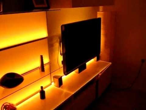 Wohnwand mit 15m LED Strips Digital RGB Teil 2