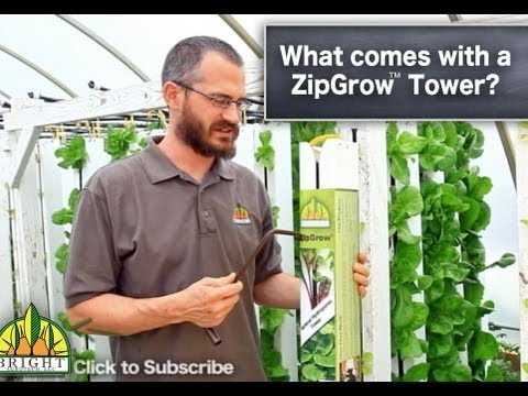 What Comes With A ZipGrow Tower (Vertical Aquaponics)