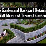 26 Garden and Backyard Retaining Wall Ideas and Terraced Gardens