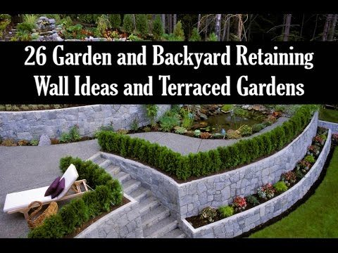 26 Garden and Backyard Retaining Wall Ideas and Terraced Gardens
