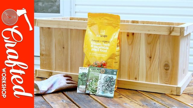 How To Build A Cedar Planter Box DIY   Crafted Workshop