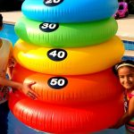 Esma and Asya fun games in the garden for kids video