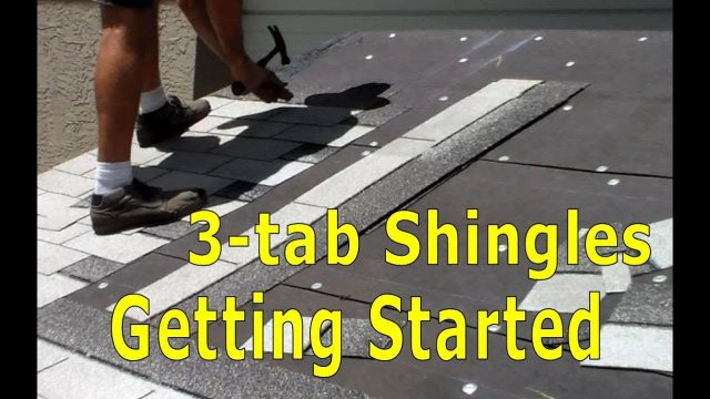 Roofing – How to Install Asphalt Shingles – Getting Started Walkthrough