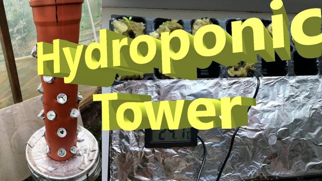 Hydroponic Tower – One Gallon Hydroponic System