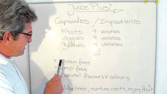 Juice Plus Capsules Ingredients,