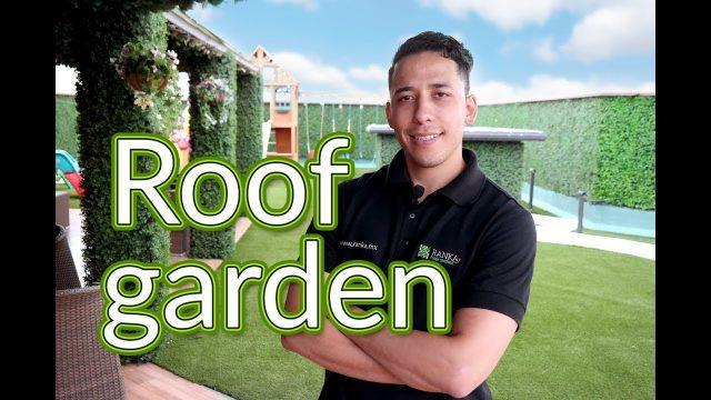 ¡Construye el Roof Garden de tus sueños!