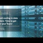 Liquid cooling in data centers: Time to get over your fears!