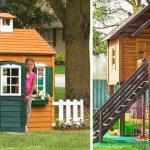 45 Awesome Backyard Kids Playhouse Ideas – DIY Garden and Design Ideas