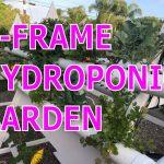 DIY Best Vertical A-Frame Hydroponic Garden Farm Build