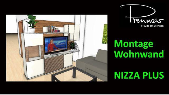 PRENNEIS – Montage Wohnwand NIZZA PLUS