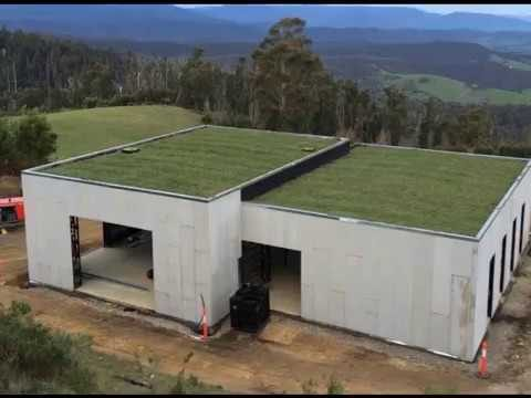Shipping container home living roof – basic container design – green roof