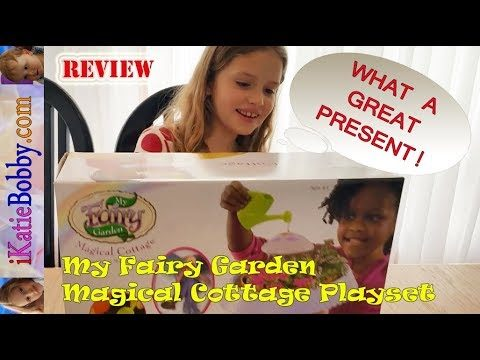 My Fairy Garden Magical Cottage Playset – Indoor Fairy Garden Kit – Enjoy!