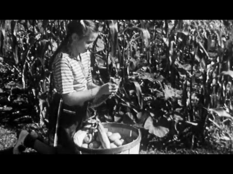 How to Start a Vegetable Garden: Gardening 1940 Encyclopaedia Britannica Films