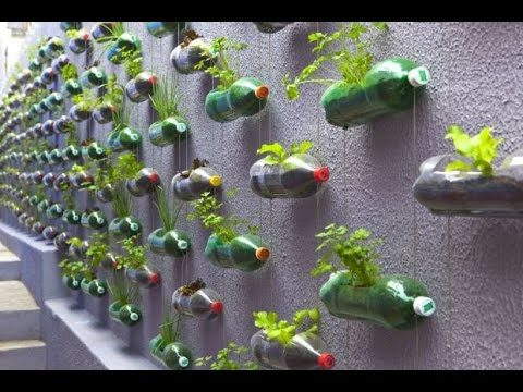 How to Make A Hanging disposable Bottle Garden | DIY Hanging Garden | Bottle Garden for FREE
