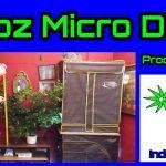 Indoor Micro 64oz Grow Box Tent Micro DWC Hydroponic System